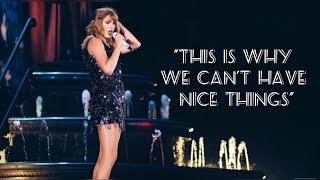 Taylor Swift - This Is Why We Can't Have Nice Things (Live Reputation Stadium Tour 2018)