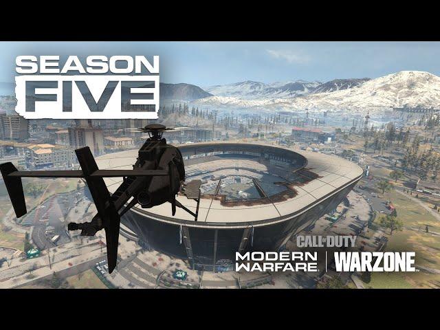 Call Of Duty Modern Warfare Season 5 Patch Size Is Still Massive
