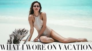 WHAT I WORE & DID ON VACATION | MALDIVES EDIT | Lydia Elise Millen | Kholo.pk