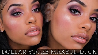 Check out my new video I did a FULL FACE DOLLAR STORE