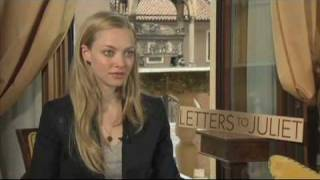 Letters to Juliet Interview: Amanda Seyfried