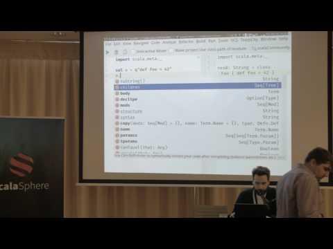Scala.meta support in IntelliJ IDEA