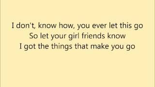 Joel Compass - Girlfriends (lyric)
