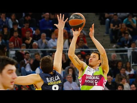 Highlights: Top 16, Round 13 vs. Laboral Kutxa Vitoria