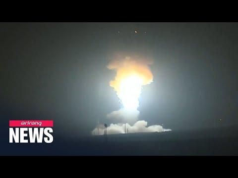 U.S. launches unarmed ICBM early Wednesday
