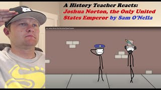 A History Teacher Reacts | Joshua Norton, the Only United States Emperor by Sam O'Nella Academy