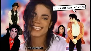 Michael Jackson - Cute and Rare Moments l KING OF PERFECTION