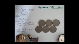 6 Coin Hexagon Puzzle (in 3 Moves Only) Tutorial By Henry Ernest Dudeney