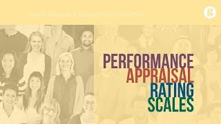 Performance Appraisal Rating Scales