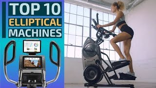 Top 10: Best Elliptical Machines for 2020 / Elliptical Trainers for Home Workout / Fitness, Cardio