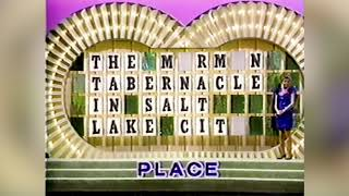 Dayna Steele on Wheel of Fortune