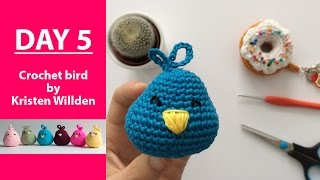 Finish crochet bird in time for Easter || 100DaysOf10MinuteCrochet || Day 5