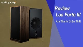Phối Ghép Loa Klipsch Forte III - Audio Thiên Hà - Audio
