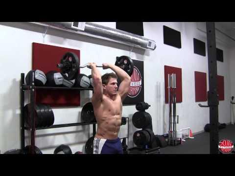 EZ-Bar Overhead Triceps Extension