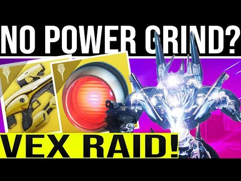 Destiny 2 DLC. VEX RAID/ARTIFACT DETAILS! Time Limited Mods, D1 Strikes & No More Power Level Grind?