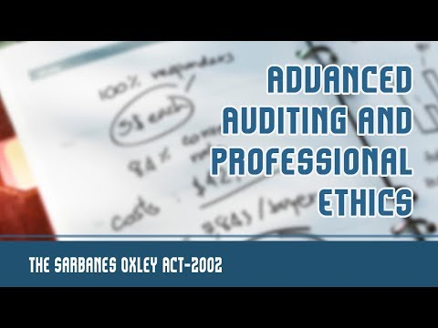 The Sarbanes Oxley Act, 2002 | Introduction | Major Provisions Of ...