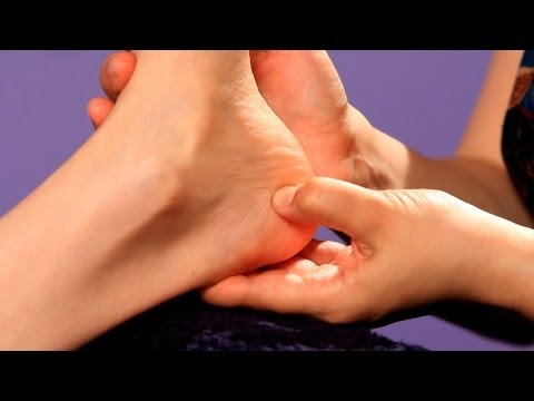 How to Relieve Menstrual Cramps & PMS | Reflexology