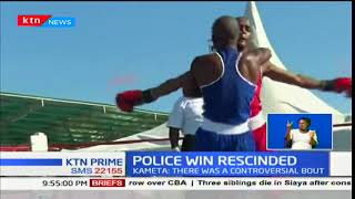 Kenya Police Chafua Chafu Boxing Team's win rescinded