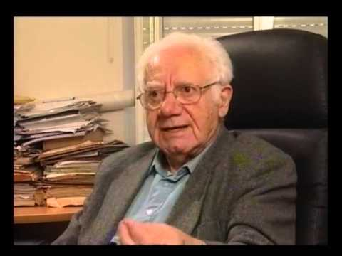Professor Israel Gutman discusses Emanuel Ringelblum