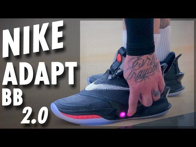 sddefault Блог - кроссовки с автошнуровкой Nike