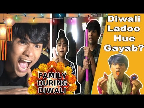 FAMILY DURING DIWALI | COMEDY VIDEO | DIWALI SPECIAL || MOHAK MEET