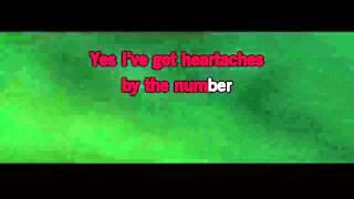 Martina McBride - Heartache By The Number Lyrics