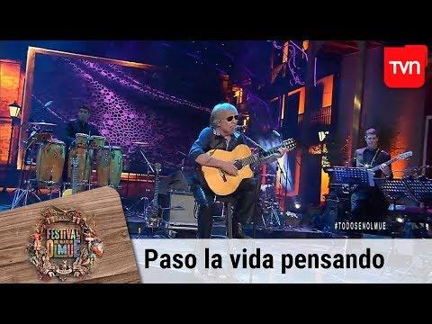 Paso la vida pensando - José Feliciano | Festival del huaso de Olmué 2019
