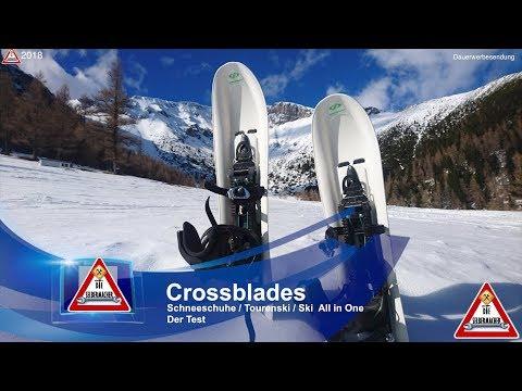 Crossblades Schneeschuhe Ski im Test