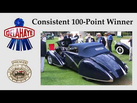 1936 Delahaye 135 Competition (CC-1317175) for sale in La Jolla, California