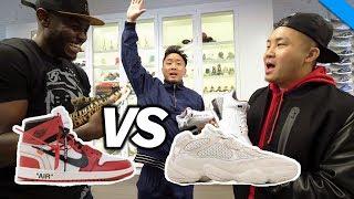 NIKE vs ADIDAS - WHO HAS BETTER SNEAKERS?! (Stadium Goods) // Fung Bros