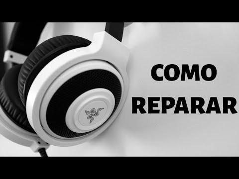 Como reparar auriculares - cambio de miniplug
