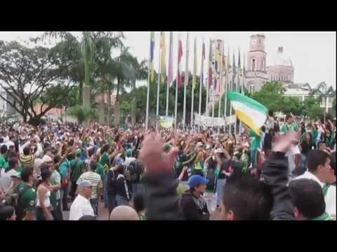 """""""Plantón, Recuperación Deportes Quindío"""" Barra: Artillería Verde Sur • Club: Deportes Quindío"""