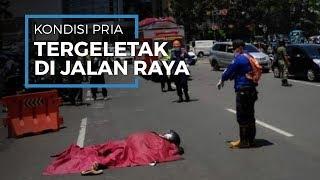 Kondisi Terkini Pria yang Tiba-tiba Terkapar di Jalan Jakarta, Bandung Dilarikan Tim Medis ke IGD