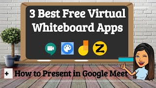3 Best Free Virtual Whiteboard Apps: From a Teacher and Student's Perspective