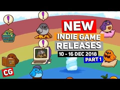 7 Indie Game New Releases: 10-16 Dec 2018-Part 1 (Upcoming Indie Games)