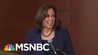 Andrea Mitchell Asks Kamala Harris Why She's Best Suited To Beat President Trump   Hardball   MSNBC