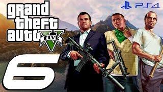 Grand Theft Auto V PS4 - Walkthrough Part 6 - Daddy's Little Girl & Helping Amanda