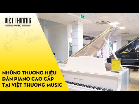 Những thương hiệu đàn piano cao cấp tại Việt Thương Music