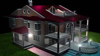 Это дом сделан и 3D. Необычные вещи которые может сделать из 3D