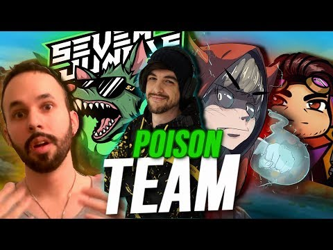 ¡MISRRA, SEVENJUNGLE, BARRY, SHAX Y EL LÍDER DE LA LIGA EN EL EQUIPO FULL VENENO! | Garmy