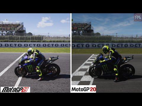 MotoGP 19 Vs MotoGP 20 (Comparison)