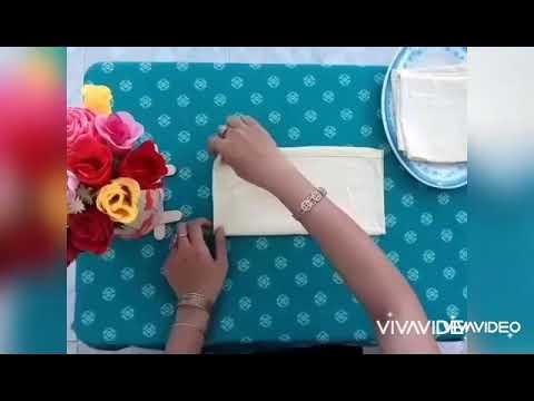 Dạy trẻ kỹ năng xếp khăn