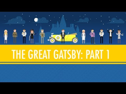 Like Pale Gold – The Great Gatsby Part I: Crash Course English Literature #4