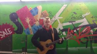 Ed Sheeran - The A Team | Street Cover by Ben Average