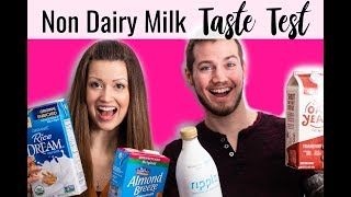 What is the best Non Dairy Milk? | Dairy Free Milk Taste Test