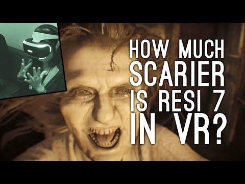 How Much Scarier is Resident Evil 7 in VR? (ELLEN VS IMMERSIVE HORROR)