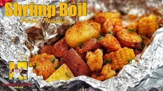 Shrimp Boil | Seafood Boil | Foil Packets