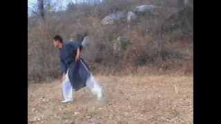 preview picture of video 'Wushu training in Dengfeng'