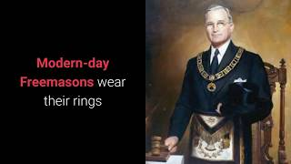 What Is A Masonic Ring? - What Is The Meaning Of A Masonic Ring?