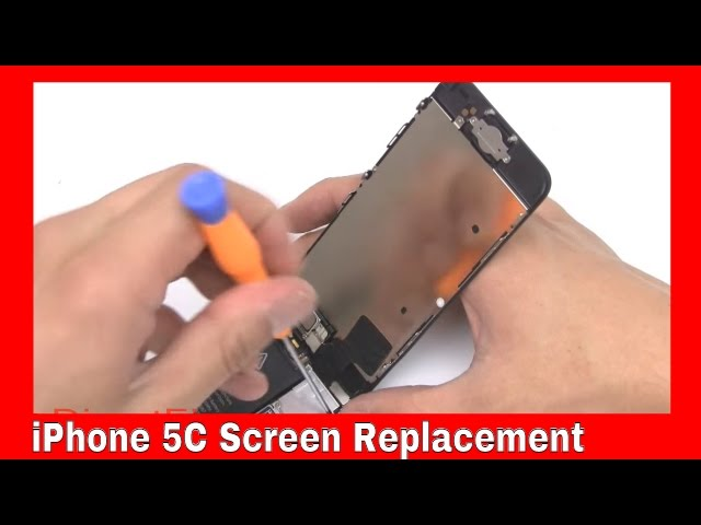 replacing iphone 5c screen iphone 5c replacement lcd touch screen display digitizer 7914